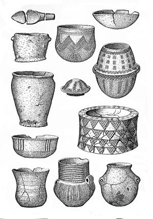 Early prehistoric pottery. Wellcome M0015196.jpg
