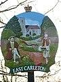 East Carleton village sign - geograph.org.uk - 1606746.jpg