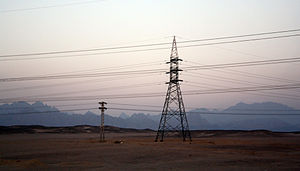 Eastern Desert - Image: Eastern desert mountain range