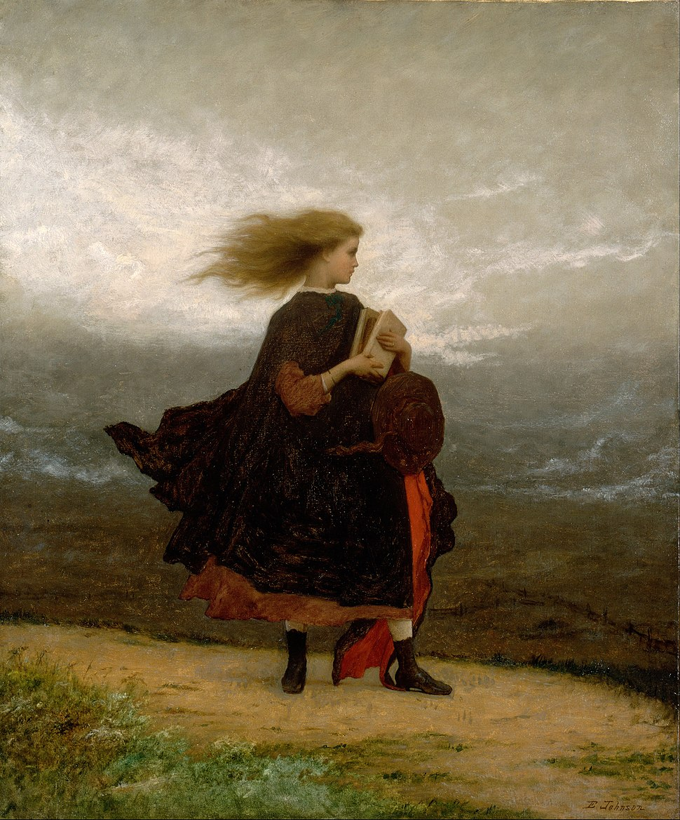 Eastman Johnson - The Girl I Left Behind Me - Google Art Project