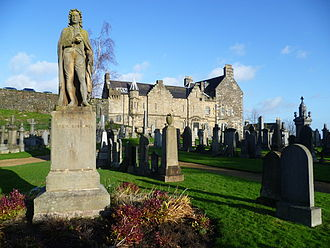 First Secession - Ebenezer Erskine statue in the Old Town Cemetery, Stirling