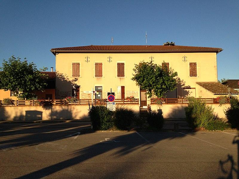 Ecole de la commune de Saint-Cyr-sur-Menthon