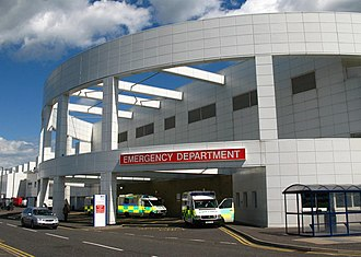 Emergency department - The emergency department at The Royal Infirmary of Edinburgh