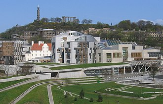 Legislatures of the United Kingdom - The Scottish Parliament meets at Holyrood in Edinburgh.