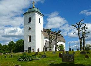 Ed Church, Uppland - Ed Church, external view
