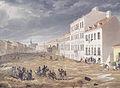 Eduard Gurk - Leopoldstadt, Jägerzeile, am 2 März 1830.jpg