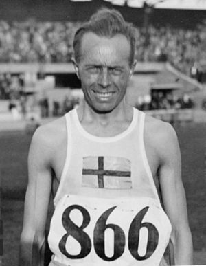 1996 in Sweden - Edvin Wide, Olympic medalist 1920, 1924 and 1928