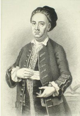 Edward Cave - Edward Cave, engraving by Edward Scriven after a painting by Francis Kyte c. 1740
