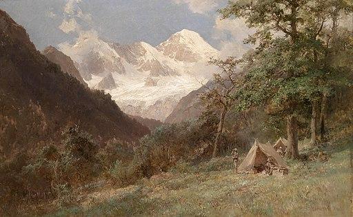 Edward Theodor Compton Landschaft im Kaukasus