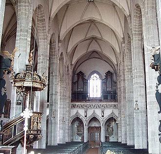 Eferding - Church of Eferding (inside)
