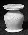 Egyptian alabaster kohl pot. Wellcome M0019317.jpg