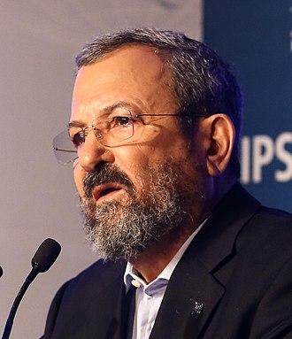 Ehud Barak - Barak in 2016