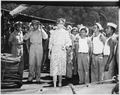 Eleanor Roosevelt on trip to Central and South America - NARA - 195805.tif