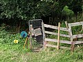 Electric fence and gate - geograph.org.uk - 1477188.jpg