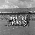 Elftal Feyenoord Meijer (verzorger), Veldhoen, Kraay, Klaassens, Pieters Graafl, Bestanddeelnr 915-4909.jpg