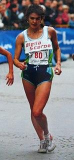 Elisabetta Perrone Italian racewalker