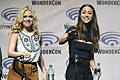 Eliza Taylor & Lindsey Morgan (25560499983).jpg