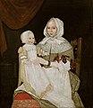 Elizabeth Clarke Freake (Mrs. John Freake) and Baby Mary Freake-Gibbs Painter 1671–1674.jpg