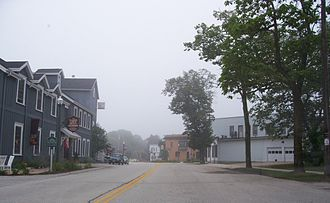 Road America - The site of the 1951 and 1952 start finish line for road races in downtown Elkhart Lake