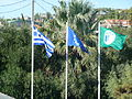 Ellanokigermaniki school flags.JPG