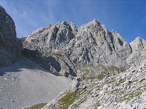 Klettersteig Wilder Kaiser Ellmauer Halt : Österreich tirol wilder kaiser ellmauer halt morgen stimmung alpen