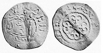 Empress Matilda - A Matilda silver penny, minted in Oxford