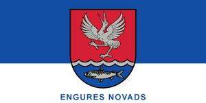 Engure Municipality - Image: Engures novads Flag