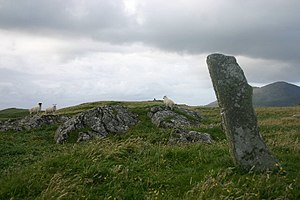 Ensay (Outer Hebrides) - Image: Ensaystone