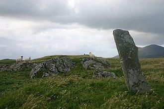 Ensay (Outer Hebrides) - Image: Ensaystone