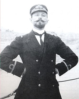 Naval Air Service (Greece) - Aristeidis Moraitinis, commander of the Hellenic Naval Air Service (1917–1918).