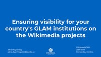 Ensuring visibility for your country's GLAM institutions on the Wikimedia projects (1).pdf
