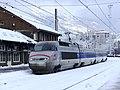 Entrée à Modane d'un TGV Milan-Paris dans la neige (décembre 2017) 1.JPG