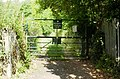 Entrance gate to Cae Perllan allotments - geograph.org.uk - 1441426.jpg