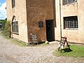 Entrance to Dunster Working Water Mill - geograph.org.uk - 925242.jpg