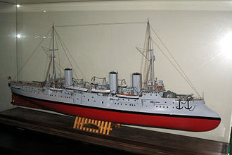French cruiser D'Entrecasteaux - Image: Entrecasteaux IMG 1551