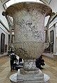 Epoca imperiale, cratere con maschere in marmo pavonazzetto, I-II sec dc. ca..JPG