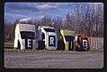 Erie Foreign Car Parts multi-statue sign, angle 1, Mohawk Street, Whitesboro, New York LOC 38235363226.jpg