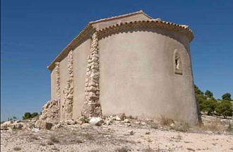 Épila - Image: Ermita de Maria magdalena