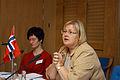 Erna Solberg, bostadsminister Norge, under nordiskt-baltiskt bostadsministermote, Nordiska radets session i Stockholm.jpg