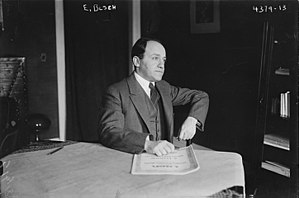 Ernest Bloch - Image: Ernest Bloch in 1917 at a table