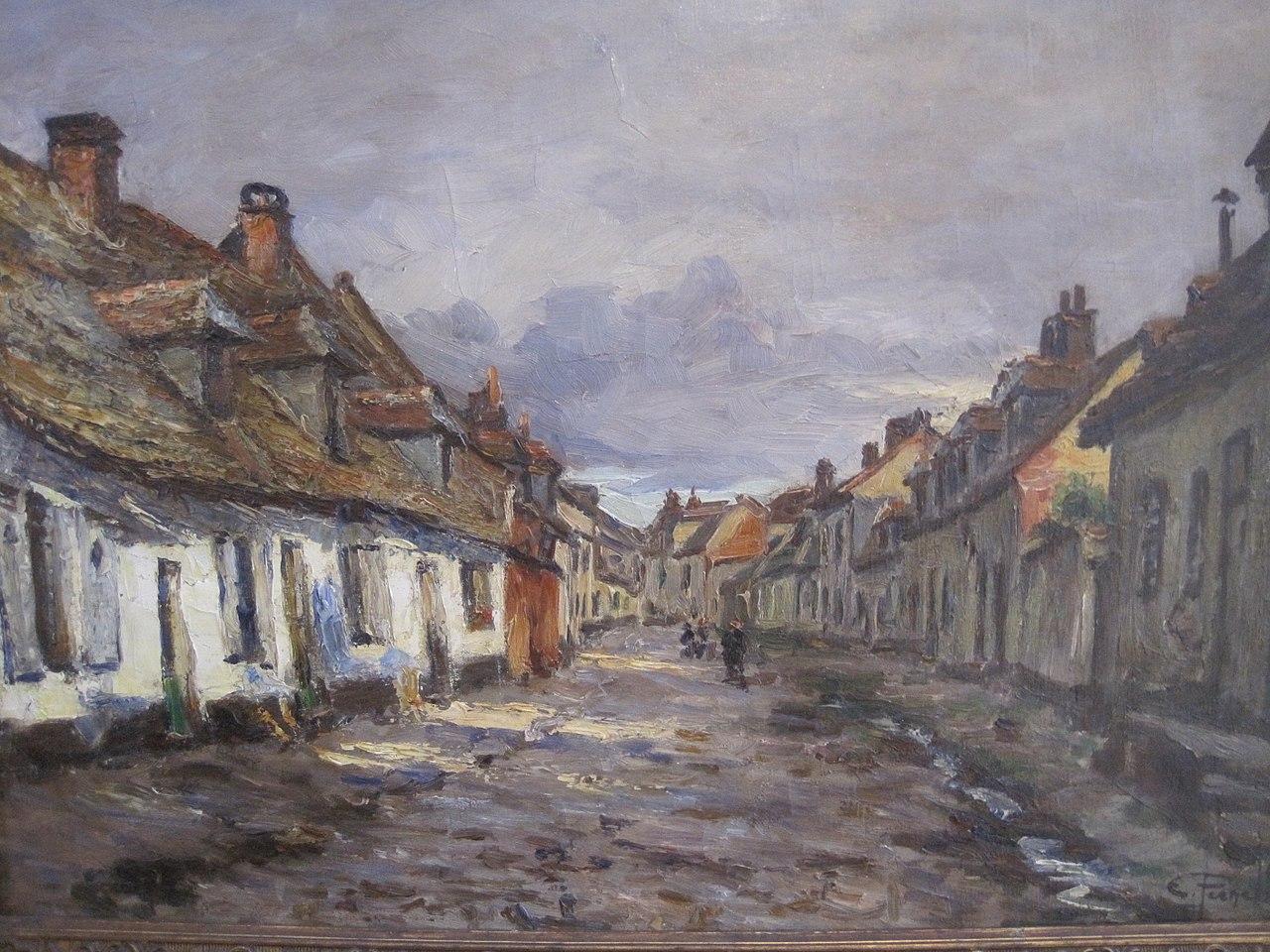 File ernest pernelle vieille rue de la ville basse for Piscine de montreuil sur mer