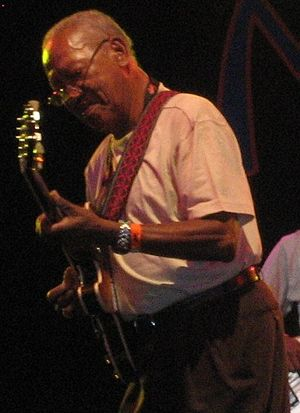 Ernest Ranglin - Ernest Ranglin performing at WOMAD in the UK in 2008