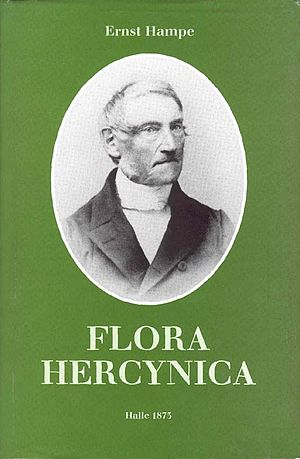 Georg Ernst Ludwig Hampe - Picture of Ernst Hampe on the front cover of Flora Hercynica