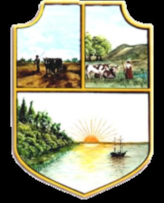 San Pedro, Buenos Aires - Image: Escudo de San Pedro (Buenos Aires)