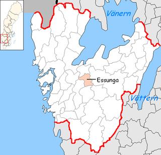 Essunga Municipality Municipality in Västra Götaland County, Sweden