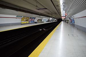 Ministro Carranza (Buenos Aires Underground) - Image: Est. Ministro Carranza 1