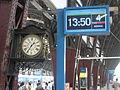 Estación Retiro, Mitre, pantalla y reloj.JPG