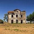 Estación abandonada de Lumbrales (España).jpg