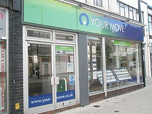 UK Housing Market Has Long Wait to Recovery Real Estate agents in London Road
