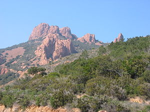 Massif de l'Esterel - Red cliffs of Esterel